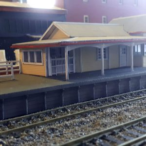 HO scale building QR Wacol Station KIT post 60/'s eara